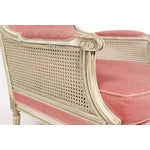Image of 1930s Louis XVI Style Bergere Chairs - A Pair