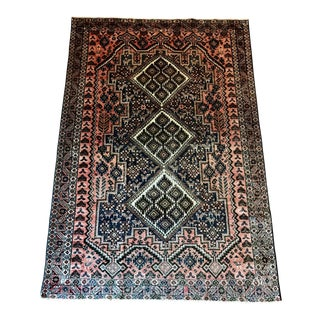 Antique Persian Prayer Rug - 3′10″ × 5′8″