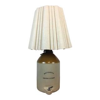 Whiteway's Devon Cyder Jug Lamp