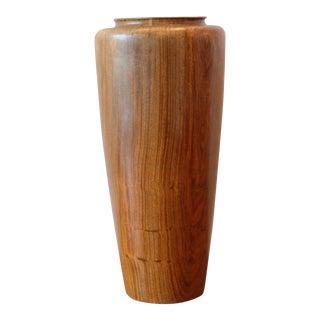 Hand Turned Wood Vessel