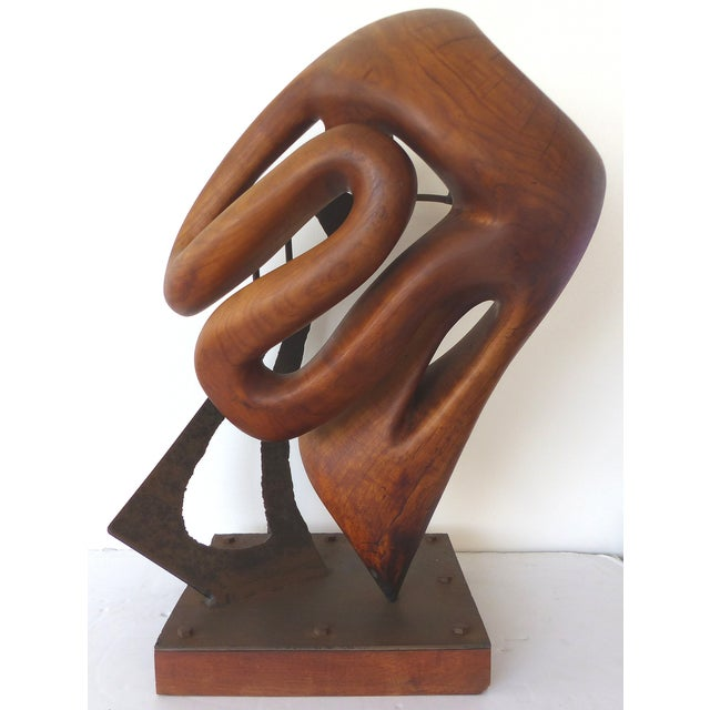 Michael Moser Vintage 1990 Modernist Sculpture - Image 2 of 11