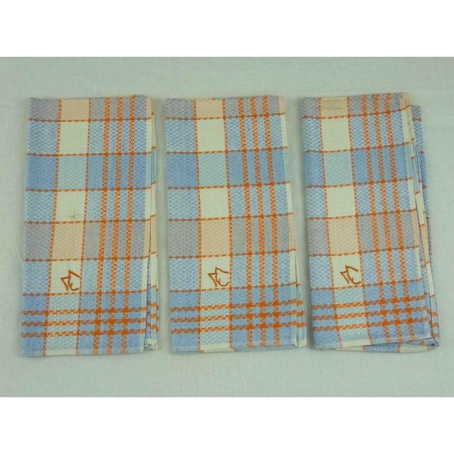 Multicolor Linen Monogrammed Towels - Set of 6 - Image 4 of 6