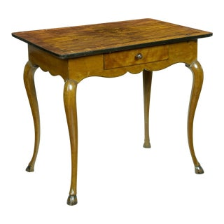 Louis XV Provincial Walnut & Fruitwood Side Table