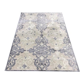 Transitional Gray Rug - 5'3''x7'3''