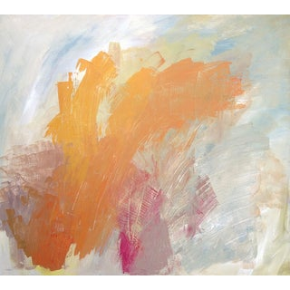 "Dani Schafer ""Burning"" Original Abstract Painting"