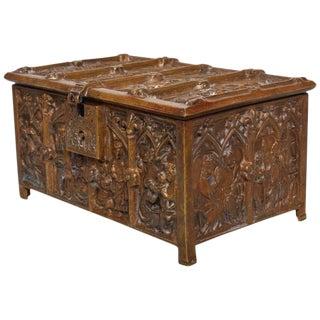 Antique Bronze Decorative Box Baroque Style