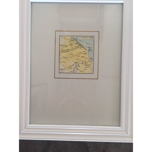 Framed Vintage Map of Buenos Aires - Image 3 of 5