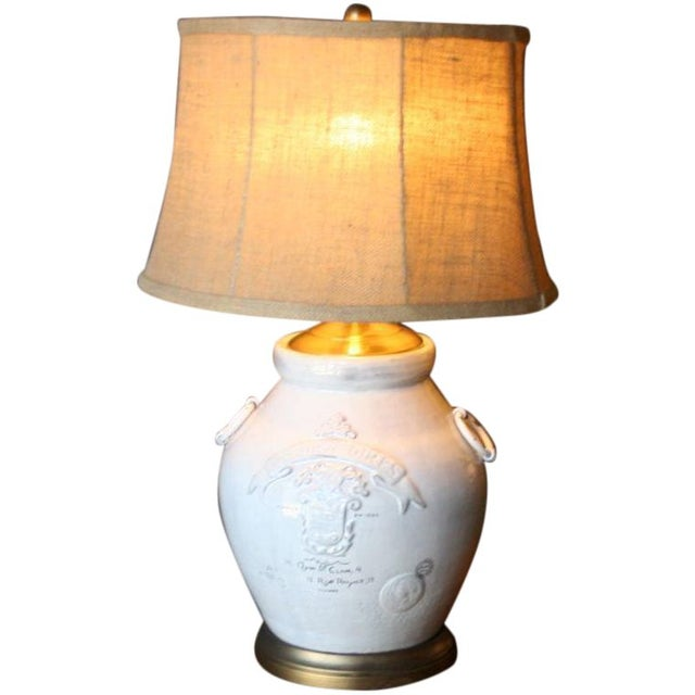 Image of Paris 1914 Urn Lamp