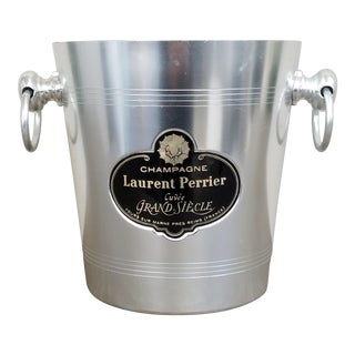 French Laurent Perrier Champagne Ice Bucket