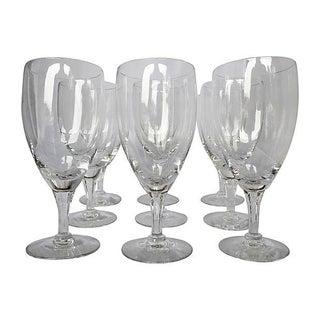 Vintage Fostoria Crystal Wine Glasses - Set of 9