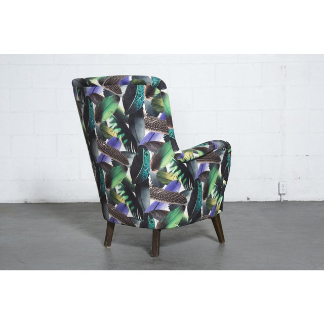 Theo Ruth Armchair Feather Upholstery - Image 5 of 10