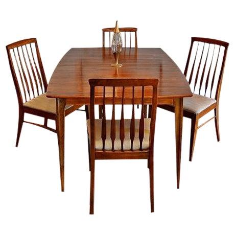 Image of Mid-Century Bernhardt Danish Style Dining Set