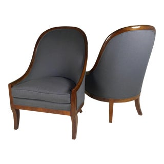 Spoon Back Chairs by Baker Furniture