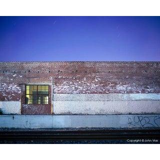"""Brick Wall"" Night Photograph by John Vias"
