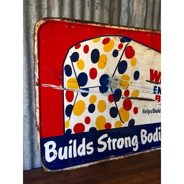 Vintage Original Wonder Bread Sign - Image 5 of 8
