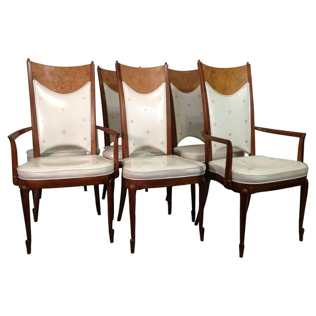 Image of Italian Dining Chairs - Set of 6