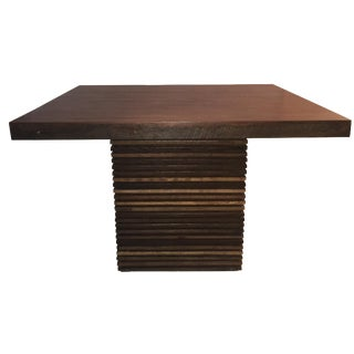 Crate & Barrel Paloma II Square Table