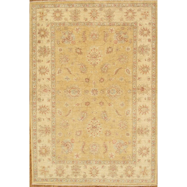 Image of Pasargad Sultanabad Collection Tribal Rug - 6'x9'