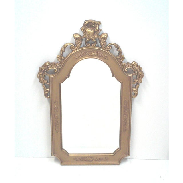Gilt Baroque Wall Mirror - Image 2 of 5