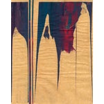 Image of Mixed Media Painting - Red Meets Blue No. 15