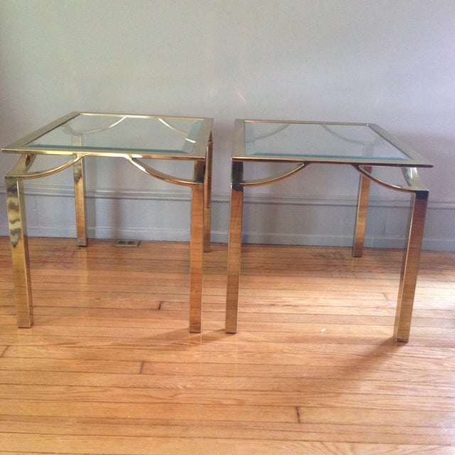 Hollywood Regency Side Tables - Pair - Image 2 of 11