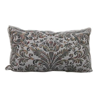 Pair of Custom Fortuny Textile Pillows