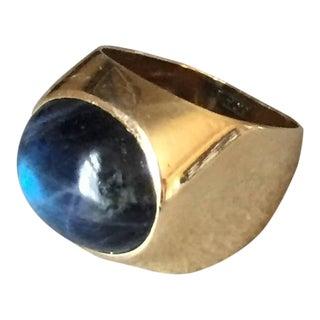 Georg Jensen Labradorite Gold Ring