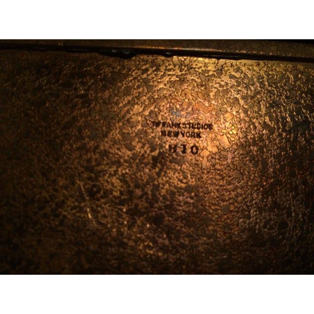 Image of Tiffany Studios Zodiac Stamp Box