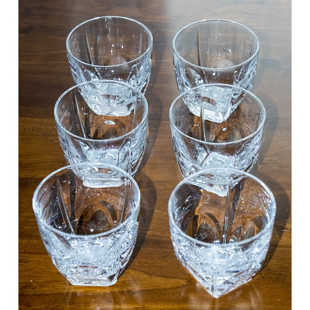 Czech Crystal Juice Glasses - Set of 6 - Image 3 of 3