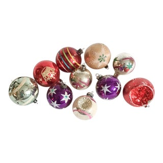 Antique & Vintage Christmas Ornament Collection - Set of 10