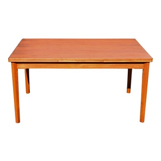 Vintage Danish Modern Teak Dining Table