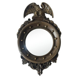 Federal Style Small Convex Mirror