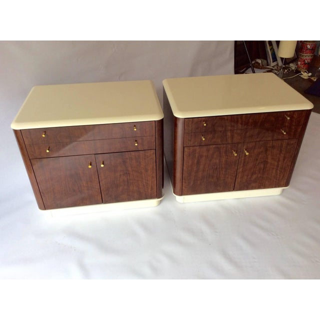 Mid-Century Drexel Nightstands - A Pair - Image 4 of 10