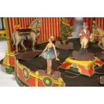 Image of Antique 1920s Paper Circus Game Set