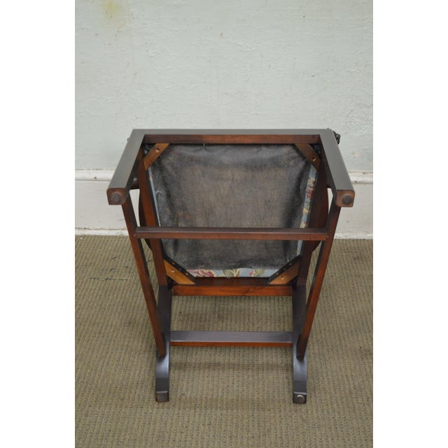 Councill Craftsman Solid Mahogany Chippendale Style Dining Chairs - Set of 8 - Image 8 of 10