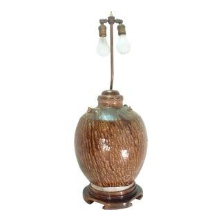18th C. Japanese Ceramic Lamp