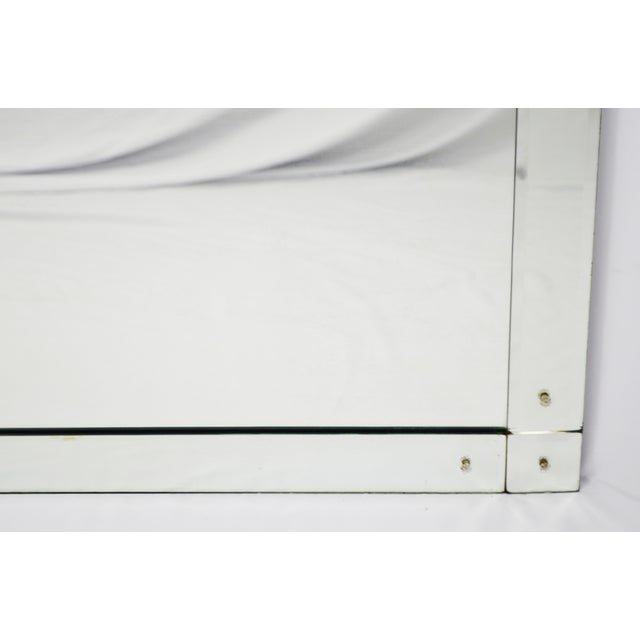Early Beveled Wall Mirror with Glass Florets - Image 4 of 11