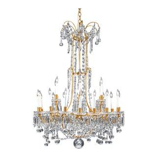 Baccarat Crystal Twenty-Four-light Chandelier