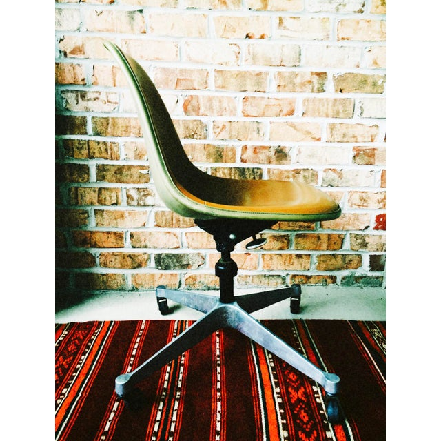 Herman Miller Eames Upholstered Fiberglass Shell Chair - Vintage - Image 5 of 8