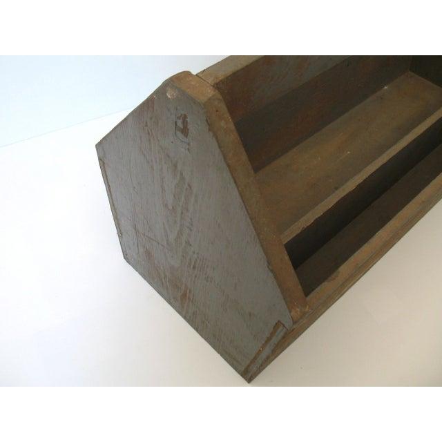 Image of Vintage Wood Tool Caddy