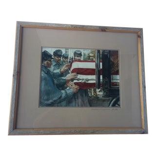 """Robert Fletcher's """"Caring Hands"""" Framed Print"""