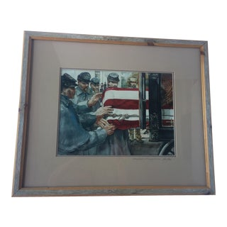 "Robert Fletcher's ""Caring Hands"" Framed Print"