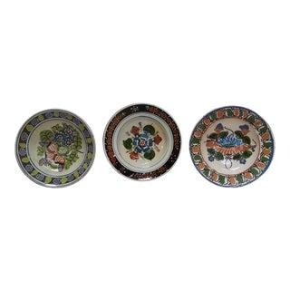 Antique Ceramic Bowls - Set of 3