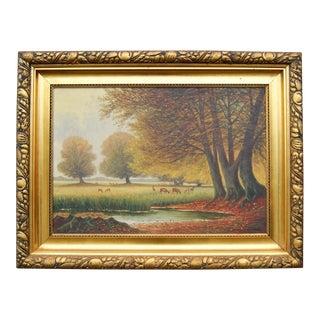 """""""Fall Landscape"""" by Vilhelm Leisner"""