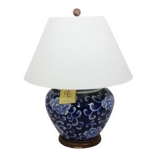 Ralph Lauren Lotus Blossom Large Ginger Jar Lamp