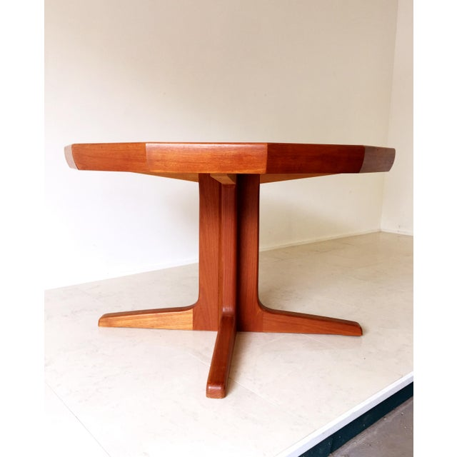 Vintage Danish Teak Extending Dining Table - Image 4 of 8