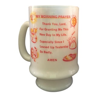 Vintage Morning Prayer Novelty Mug