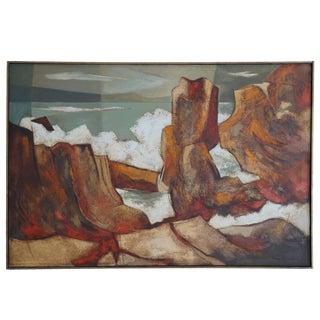 1960s Oil Painting by Darwin Musselman