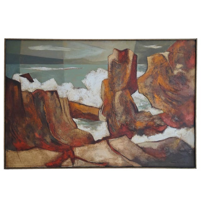 1960s Oil Painting by Darwin Musselman - Image 1 of 6