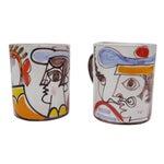 Image of Ceramic Desimone Mugs - Pair